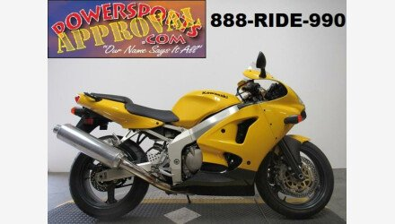 2002 Kawasaki Ninja ZX-6R for sale 200610940