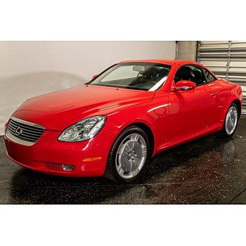 2002 Lexus SC 430 Convertible for sale 101216397