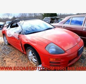 2002 Mitsubishi Eclipse Spyder GT for sale 101326231