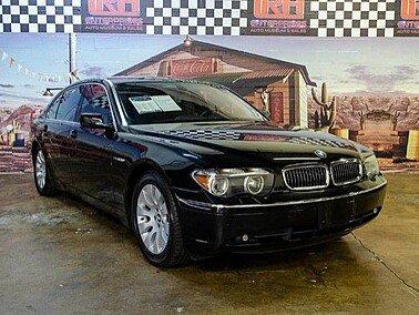 2003 BMW 760Li for sale 101206354
