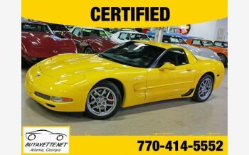 2003 Chevrolet Corvette Z06 Coupe for sale 100999797