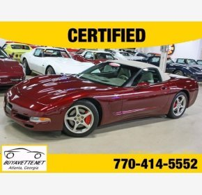 2003 Chevrolet Corvette Convertible for sale 101222741
