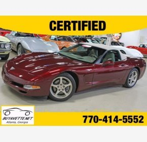 2003 Chevrolet Corvette Convertible for sale 101304428