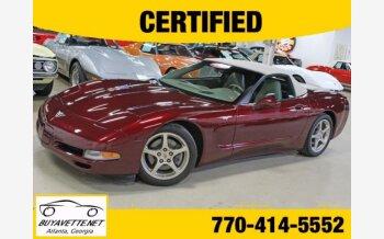 2003 Chevrolet Corvette for sale 101304428