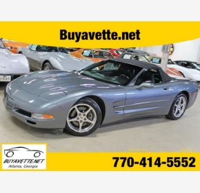 2003 Chevrolet Corvette Convertible for sale 101306699