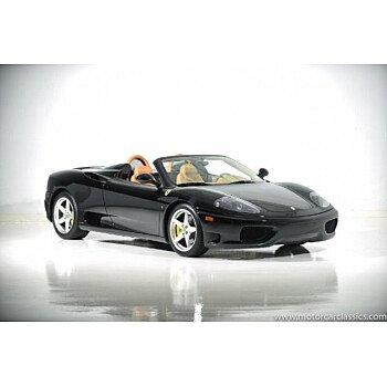2003 Ferrari 360 Spider for sale 101009908
