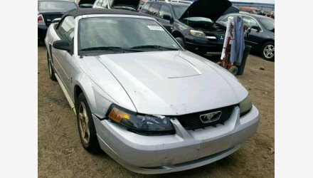 2003 Ford Mustang Convertible for sale 101125623