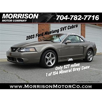 2003 Ford Mustang for sale 101296365