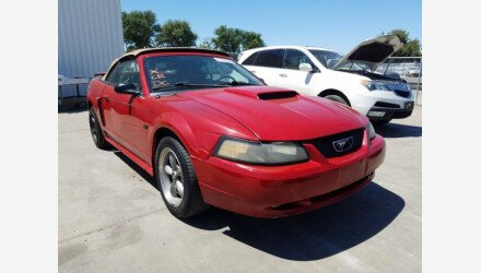 2003 Ford Mustang GT Convertible for sale 101346603