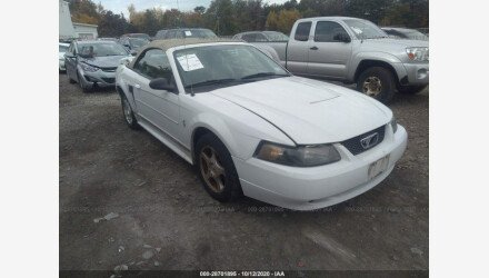 2003 Ford Mustang Convertible for sale 101409957