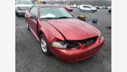 2003 Ford Mustang Convertible for sale 101414152