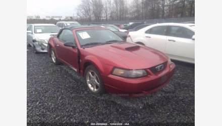 2003 Ford Mustang Convertible for sale 101440094