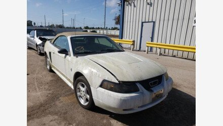 2003 Ford Mustang Convertible for sale 101467293