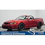 2003 Ford Mustang Cobra Convertible for sale 101568742