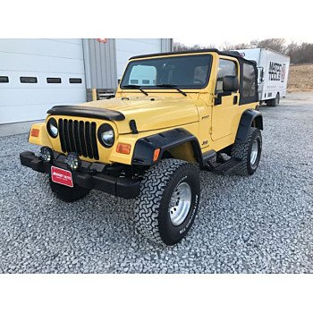 2003 Jeep Wrangler 4WD Sport for sale 101104114