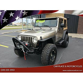 2003 Jeep Wrangler 4WD X for sale 101235019