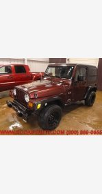 2003 Jeep Wrangler 4WD X for sale 101326326
