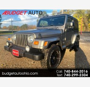 2003 Jeep Wrangler for sale 101397323