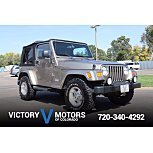 2003 Jeep Wrangler for sale 101620491