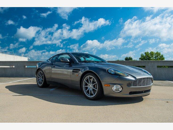 2004 Aston Martin Vanquish For Sale Near Allentown New Jersey 08501 Classics On Autotrader