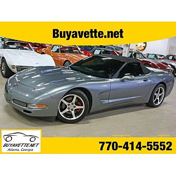 2004 Chevrolet Corvette Convertible for sale 101023159