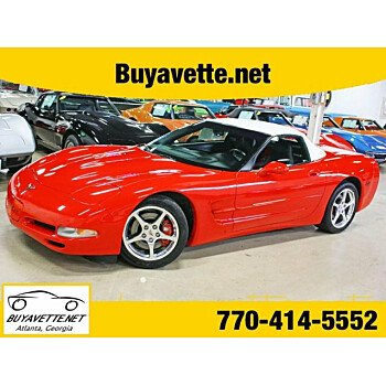 2004 Chevrolet Corvette Convertible for sale 101023161