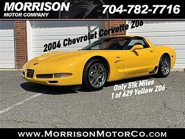 2004 Chevrolet Corvette for sale 101306797