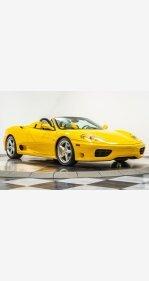 2004 Ferrari 360 Spider for sale 101112473