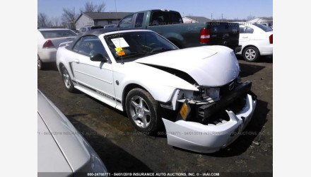 2004 Ford Mustang Convertible for sale 101125780