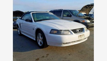 2004 Ford Mustang Convertible for sale 101242225