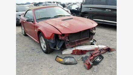 2004 Ford Mustang Convertible for sale 101271460