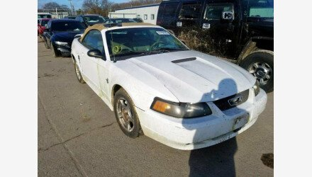 2004 Ford Mustang Convertible for sale 101271993
