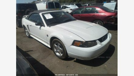 2004 Ford Mustang Convertible for sale 101285974