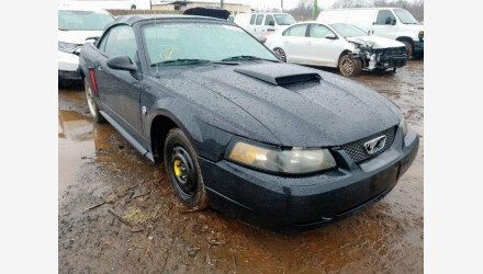 2004 Ford Mustang Convertible for sale 101306202