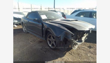 2004 Ford Mustang GT Convertible for sale 101342211