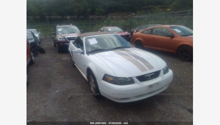 2004 Ford Mustang Convertible for sale 101349707