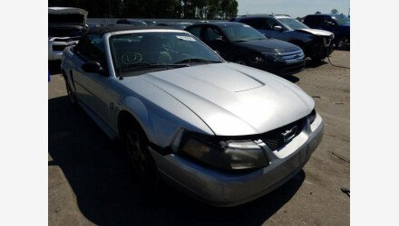 2004 Ford Mustang Convertible for sale 101358537