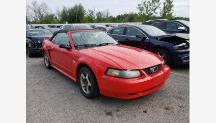 2004 Ford Mustang Convertible for sale 101358604