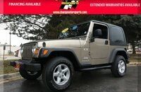 2004 Jeep Wrangler 4WD X for sale 101064937