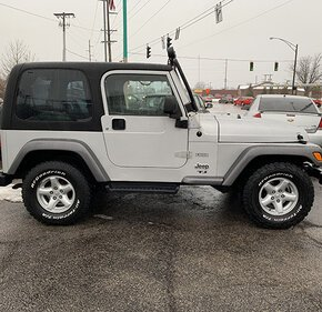 2004 Jeep Wrangler 4WD for sale 101094359