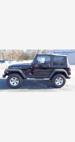 2004 Jeep Wrangler 4WD Rubicon for sale 101097797