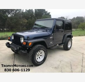 2004 Jeep Wrangler 4WD X for sale 101100363