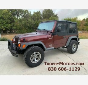 2004 Jeep Wrangler 4WD for sale 101194582