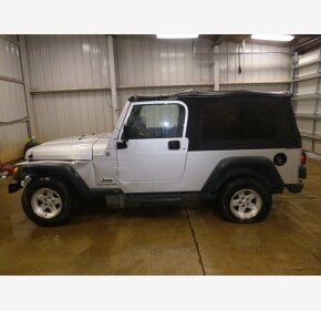 2004 Jeep Wrangler 4WD for sale 101219878