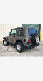 2004 Jeep Wrangler 4WD for sale 101251516
