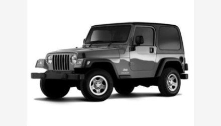2004 Jeep Wrangler 4WD for sale 101285774
