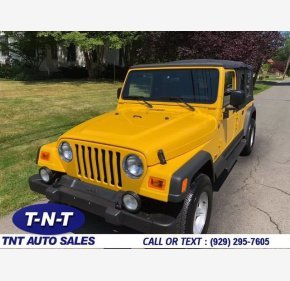 2004 Jeep Wrangler for sale 101346057
