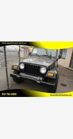 2004 Jeep Wrangler for sale 101380654