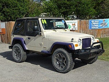 2004 Jeep Wrangler for sale 101395778
