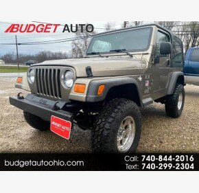2004 Jeep Wrangler for sale 101413577